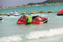 摩托艇与骑手