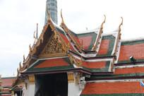 漂亮的寺庙屋顶造型