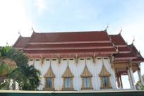 四面佛寺的泰式寺庙