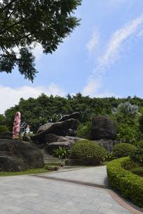 云台花园岩石园