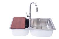 不锈钢盆水槽水龙龙头洗手盆