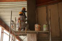 防火涂料钢结构施工