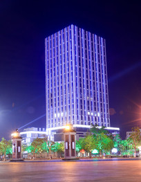 金融大厦夜景