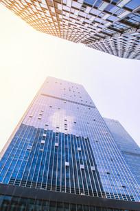金融中心摩天大楼