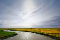 内蒙草原的河流