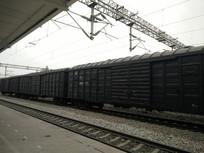 铁路火车轨道