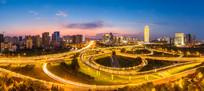 郑州郑东新区CBD城市夜景