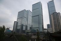 现代都市的高楼大厦
