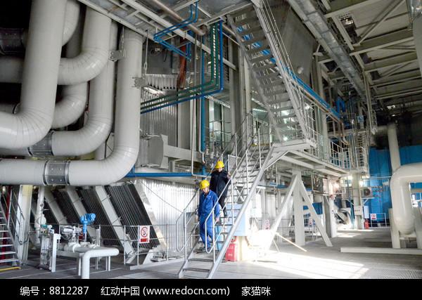 华能伊春热电锅炉图片