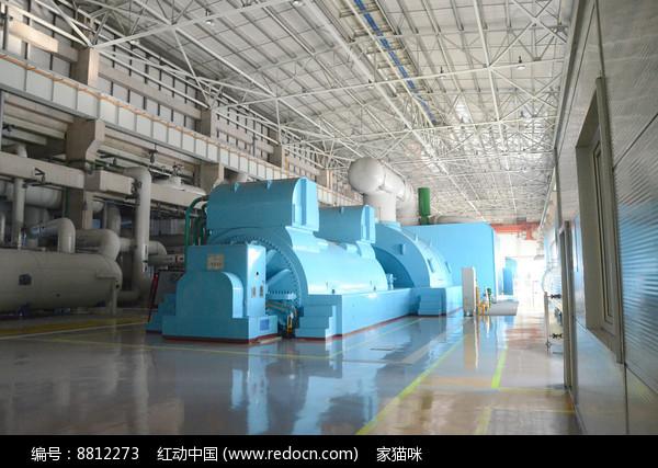 热电厂发电机图片
