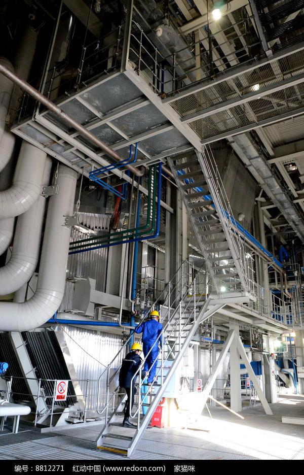 热电厂锅炉车间图片