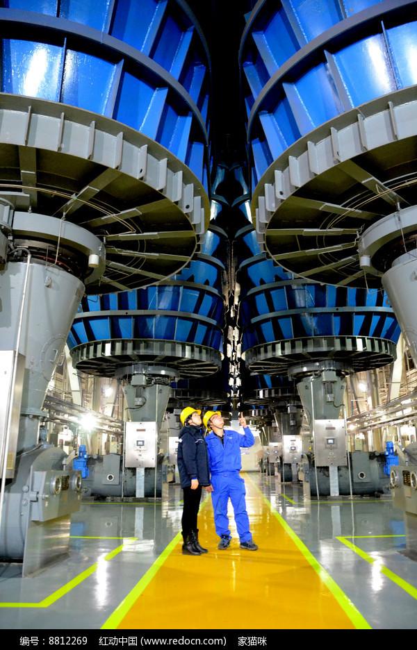 热电厂磨煤机设备图片