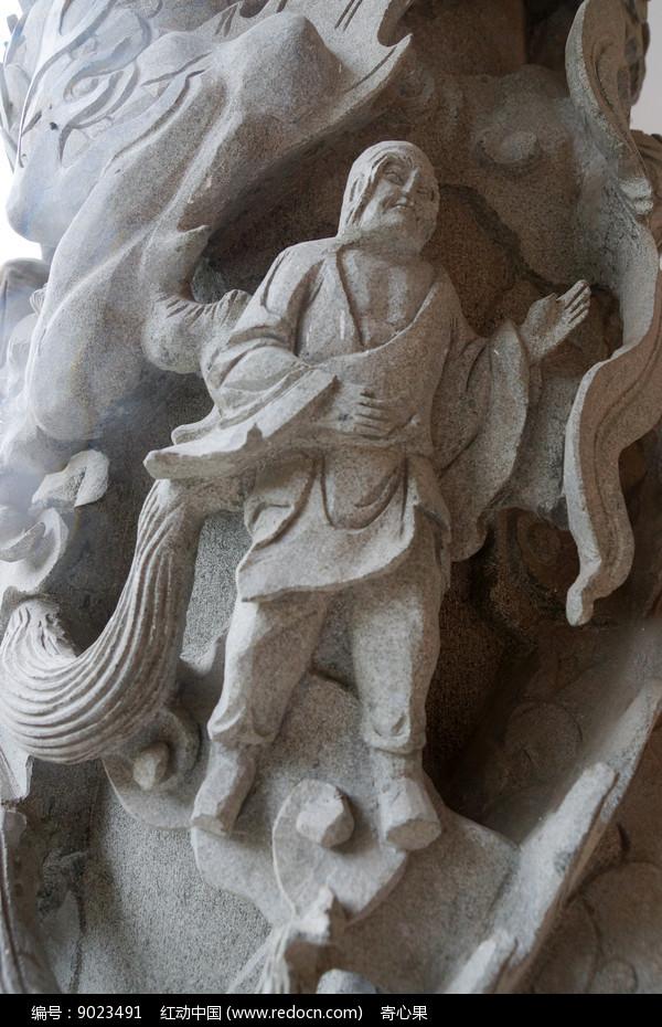 人物石雕图片