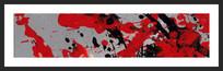 涂鸦抽象油画装饰画
