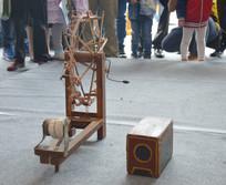 吊线戏纺车道具