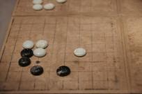 明代白纸图围棋棋子