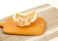 柚子水果高清摄影图