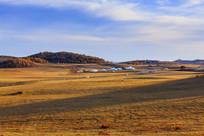 内蒙古北沟秋季