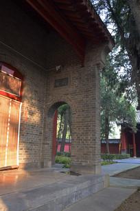 白马寺一角风景图