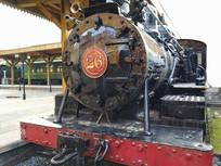 站台老火车