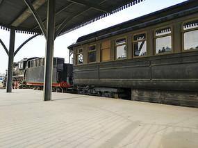 车站老火车