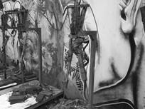 雕塑与涂鸦