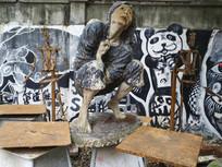 校园雕塑艺术