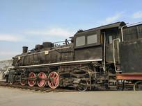 蒸汽火车特写
