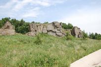 阿斯哈图地质公园石墙
