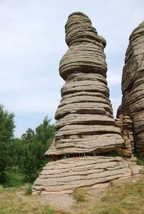 阿斯哈图石林石塔