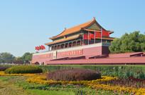 北京天安门城楼图片