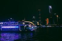 广州塔珠江夜景风光