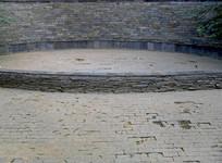 灰色调石头墙面背景