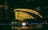 码头夜景风光