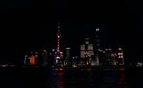 上海外滩夜景风光