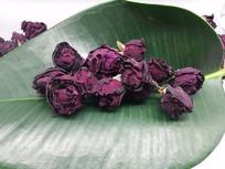 云南满泽墨红玫瑰花茶图片