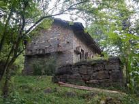 重庆巫山红椿土家族乡石头房屋