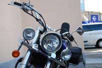 莫斯科街头大排量摩托车