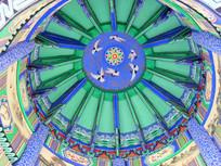 园林建筑穹顶彩绘
