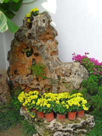 园林设计奇石景观