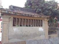 古厝屋檐外墙