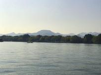西湖湖光山色美景