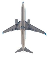 白色背景的飞机