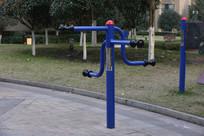 社区健身器材臂轨
