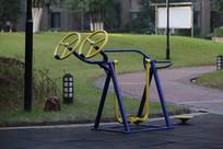 社区健身器材漫步转轮