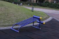 社区健身器材躺椅