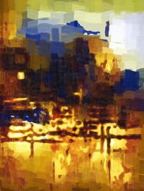现代概念之抽象油画
