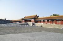 北京故宫古建筑特写图