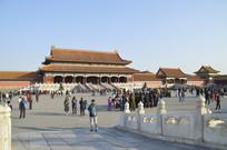北京故宫古建筑特写图片