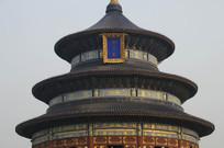 北京天坛皇家古建筑特写图片